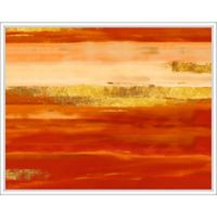 "PTM Images ""Sunset"" 28-Inch x 28-Inch Canvas Wall Art"