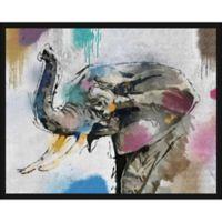 """PTM Images """"Elephant"""" 28-Inch x 28-Inch Canvas Wall Art"""