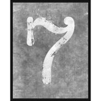 """PTM Images """"Seven"""" 22-Inch x 28-Inch Canvas Wall Art"""