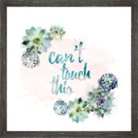 "PTM Images ""Can't Touch This"" 18.5-Inch x 18.5-Inch Print Wall Art"