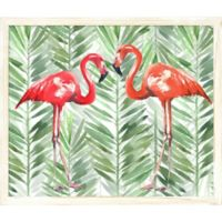 "PTM Images ""Couple Flamingos"" 24-Inch x 20-Inch Print Wall Art"