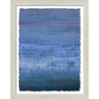 PTM Images Blue Haze 13.25-Inch x 16.25-Inch Framed Wall Art