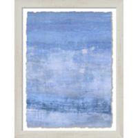 Sky Blue Haze 13.25-Inch x 16.25-Inch Framed Wall Art