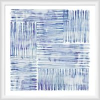 """PTM Images """"Ocean Lines"""" 22.5-Inch x 22.5-Inch Print Wall Art"""