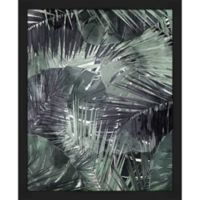 """PTM Images """"Muted Lush Fronds"""" 14.5-Inch x 18.5-Inch Print Wall Art"""