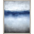 "PTM Images ""Linear Blue Horizon"" 25-Inch x 31-Inch Print Wall Art"