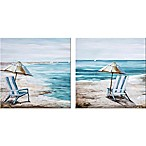 ART 2PK BEACH UMB CHAIR 12X24