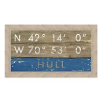 """Hull, MA"" 28-Inch x 16-Inch Print Wall Art"