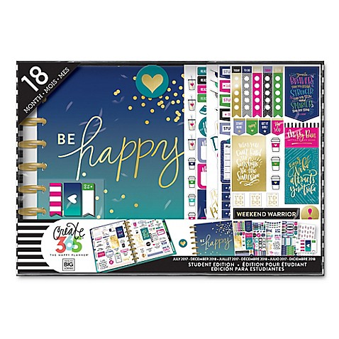 The Happy Planner® Be Happy 18-Month Calendar