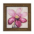 """Purple Flower"" 15-Inch x 15-Inch Print Wall Art"