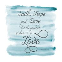 Courtside Market Faith Hope & Love Wall Decal