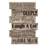 """Courtside Market """"Work Hard"""" Wall Decal"""