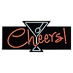 """Cheers"" Lighted Wall Art"