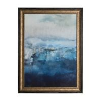 Ink Abstract 24-Inch x 31-Inch Framed Wall Art