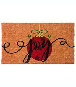 Joy Tapete para entrada de fibra de coco, 40.64 x 71.12 cm