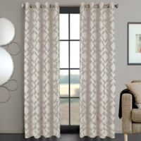 Ryder 108-Inch Grommet Window Curtain Panel in Ivory