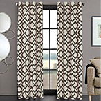 Ryder 84-Inch Grommet Window Curtain Panel in Charcoal
