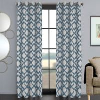 Ryder 63-Inch Grommet Window Curtain Panel in Slate