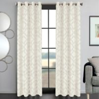 Ryder 108-Inch Grommet Window Curtain Panel in White