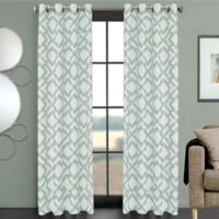 Ryder 108-Inch Grommet Window Curtain Panel in Spa