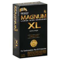 Trojan® Magnum XL 12-Count Premium Latex Lubricated Condoms