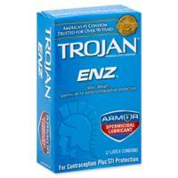 Trojan® ENZ™ 12-Count Spermicidal Lubricant Premium Latex Condoms
