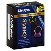 Lifestyles® A:Muse 3-Count Multi-Pleasure Vibrating Rings