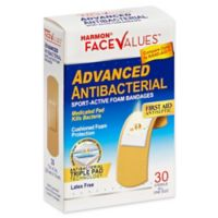 Harmon® Face Values® 30-Count 1-Inch Advanced Antibacterial Sport-Active Foam Bandage