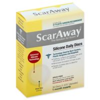 ScarAway® 30-Count Clear Daily Silicone Scar Discs