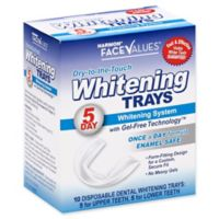 Harmon® Face Values® 10-Count 5-Day Dry-to-the-Touch Dental Whitening Tray
