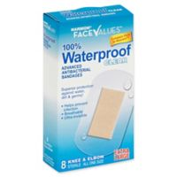 Harmon® Face Values® 8-Count Extra Large Waterproof Antibacterial Knee & Elbow Bandage