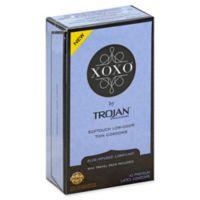 Trojan® XOXO 10-Count Softouch Thin Low-Odor Premium Latex Condoms