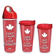 Tervis® Keep Calm and Love Canada Wrap Drinkware with Lid