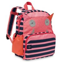 Lassig Little Monsters Mad Mabel Medium Backpack in Pink/Blue