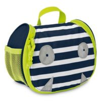 Lassig™ Little Monsters Bouncing Bob Mini Toiletry Bag in Blue/Green