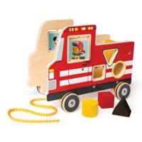 Manhattan Toy® My Fire Truck Pull Toy