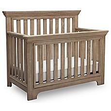 Serta® Langley 4 In 1 Convertible Crib In Rustic Whitewash