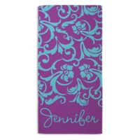 For Mom Beach Towel in Purple