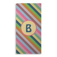 Colorful Stripes Beach Towel