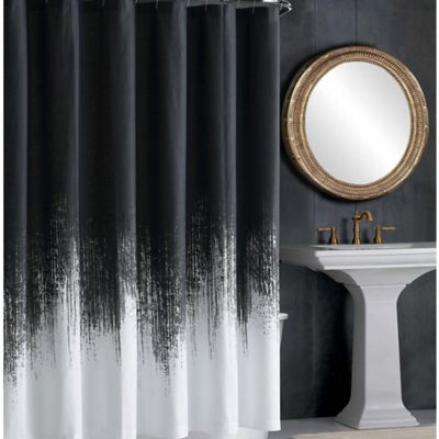 Vince CamutoR Lyon Shower Curtain In Grey