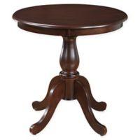 Carolina Cottage Salem 30-Inch Pedestal Dining Table in Espresso