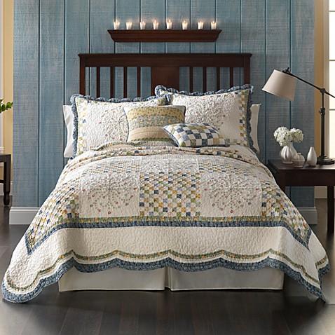 Emily Quilt 100 Cotton Bed Bath Beyond