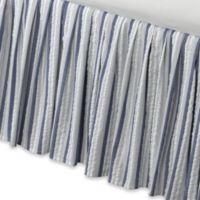 Seaside Stripe California King Bed Skirt