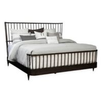 ED Ellen DeGeneres Queen Spindle Bed in Oak