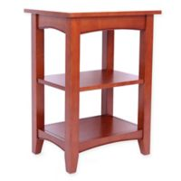 Shaker Cottage 2-Shelf End Table in Cherry