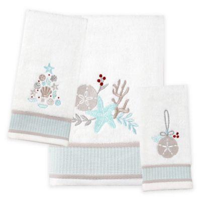 Saay Knight Coastal Christmas Bath Towel