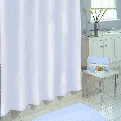 SALT PEVA 84 Inch X 70 Inch Shower Curtain Liner In White