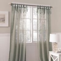 Laura Ashley® Danbury 42-Inch x 84-Inch Decorative Window Curtain Panel in Blue