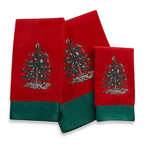 Spode Christmas Tree Hand Towel Bed Bath Beyond