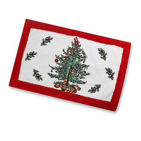 Spode Christmas Tree Rug Bed Bath Beyond
